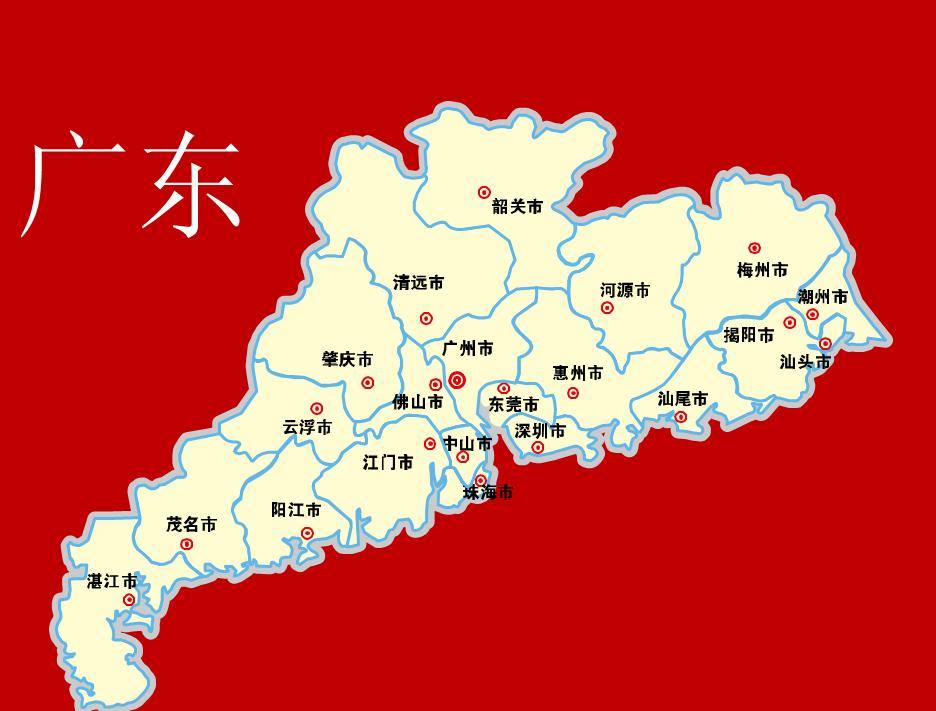 说广东广州地理风水大局观